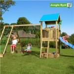 Legetårn komplet Jungle Gym Castle inkl. Climb module x'tra og rutschebane