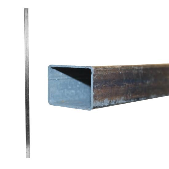 Galvaniseret stolpe med 6 huller, 270 cm