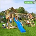 Legetårn komplet Jungle Gym Chalet inkl. Climb module x'tra og rutschebane
