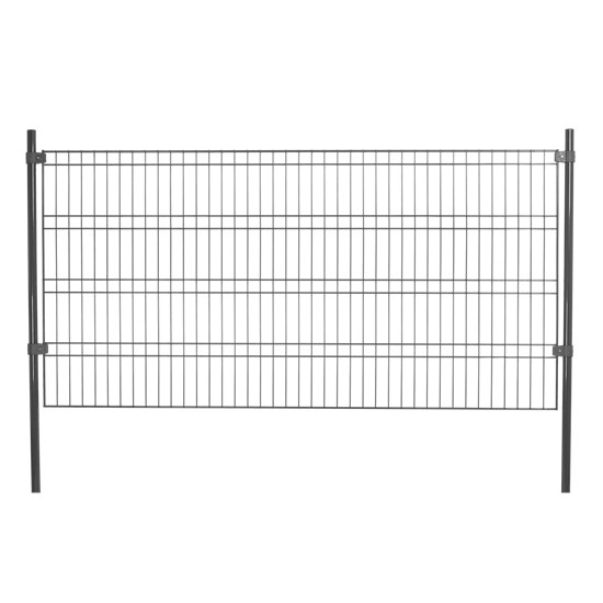 Panelhegn hegnspakke 4 fag, grå