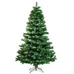 Kunstigt juletræ 210 x 138 cm, uden lys