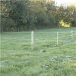 Hestehegnspakke 100 meter med 2 rk. 7 mm hvid hestereb