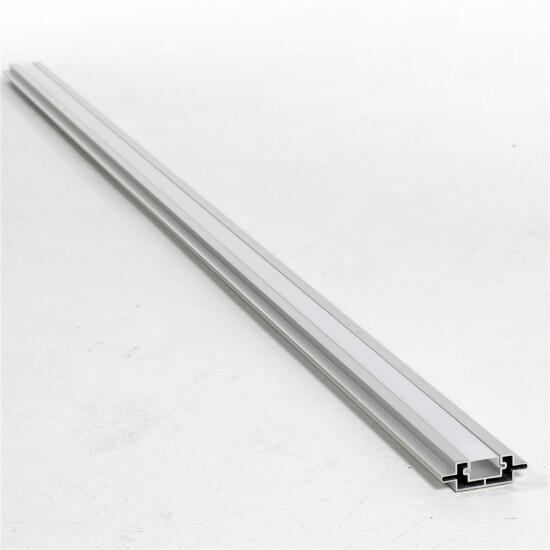 Kirkedal Alu Design LED skinne m/ PVC – Alu blank