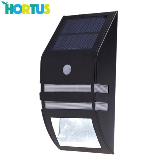 Solcellelampe med sensor HORTUS, 1 LED/1 SMD