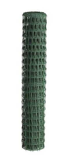 Havehegn plast, maske 2,5x2,5 cm, 100 cm x 10 m, grøn