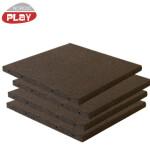 Gummiflise 50x50x3 cm sort NORDIC PLAY Active 7,5 m2 - 30 stk.