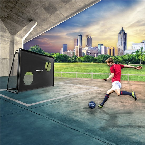 Fodboldmål RENOX LEGEND 180 x 120 x 60 cm med sharpshooter