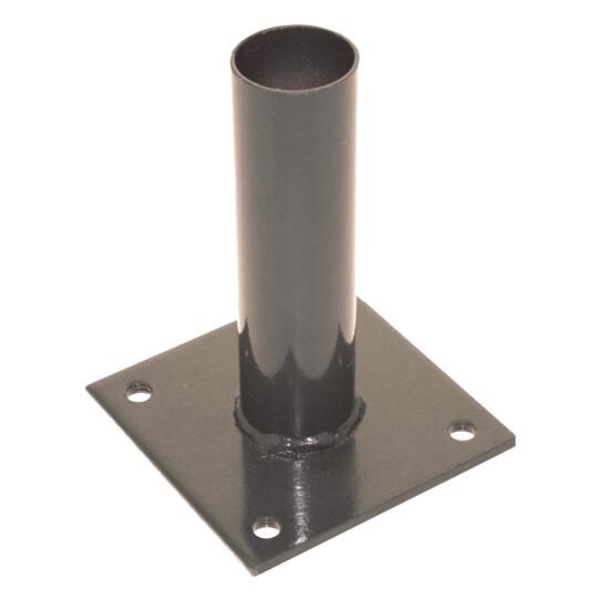 Stolpefod for panelhegn, grå