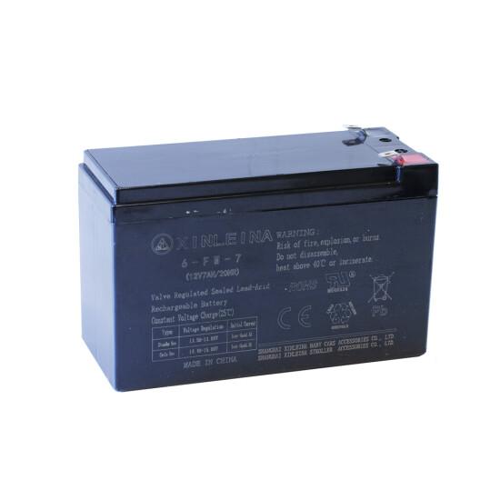 Batteri til elbil 12/7AH til elbil