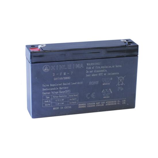 6V-batteri 7/AH til elbil