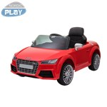 Elbil Audi TTS Roadster 12V med gummihjul NORDIC PLAY