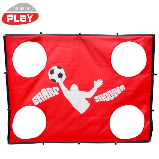 NORDIC PLAY Sharp Shooter til Soccer goal