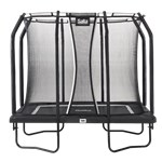 Trampolin Premium Black Edition rektangulær 214 x 305 cm inkl. sikkerhedsnet