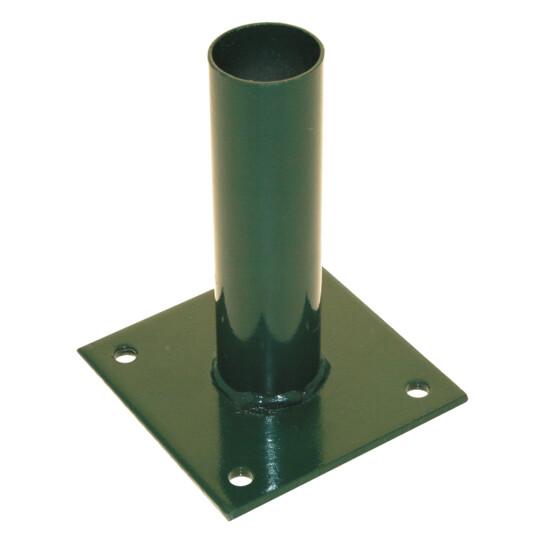 Stolpefod for 38 mm stolpe, grøn