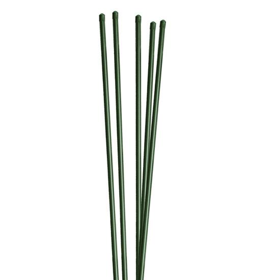 Plante-/hegnspæl metal/PVC 125 cm