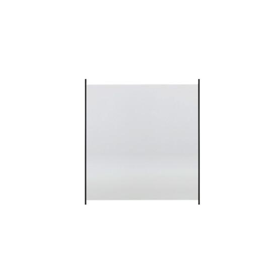HORTUS Glashegn med aluskinne 100 x 100 cm