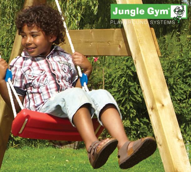 Jungle Gym Swing sæde komplet kit, rød