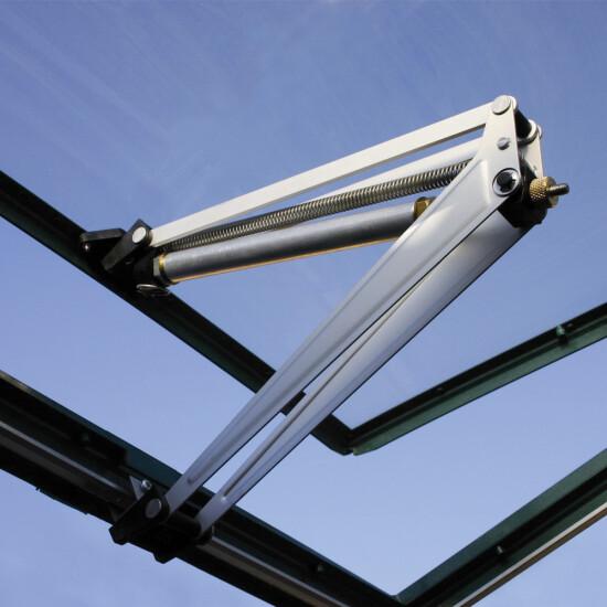 Automatisk vindueåbner til drivhus