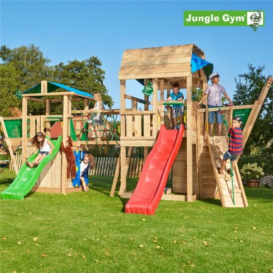 Legeunivers 11 komplet Jungle Gym inkl. rutschebane