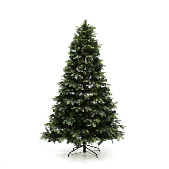 Kunstigt juletræ 210 x 142 cm mix uden lys
