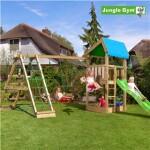 Legetårn komplet Jungle Gym Home inkl. Climb module x'tra og rutschebane