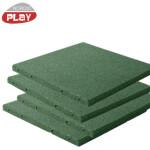 Gummiflise 50 x 50 x 3 cm grøn NORDIC PLAY Active 30 m2 - 120 stk.