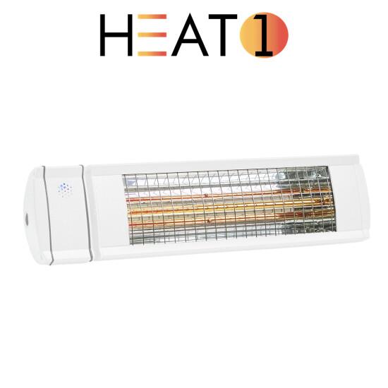 Terrassevarmer HEAT1 ECO high-line 1500W hvid
