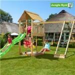 Legetårn komplet Jungle Gym Cabin inkl. Climb module x'tra og rutschebane