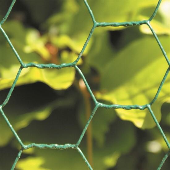 Trådflet grøn 25 x 750 mm, 10 m Grøn